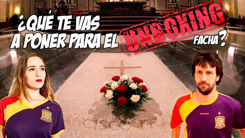 El emprendedor español que arrasa con las camisetas del 'unboxing facha' de Franco