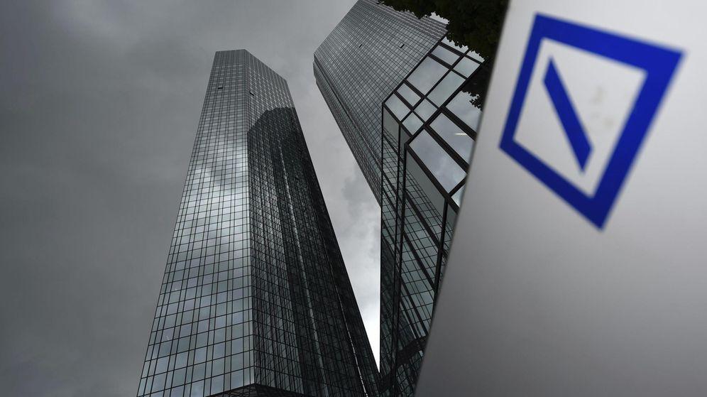 Foto: Sede del Deutsche Bank en Fráncfort (Efe).