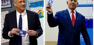 Post de Netanyahu, más cerca de la victoria tras el inicio del recuento de votos en Israel