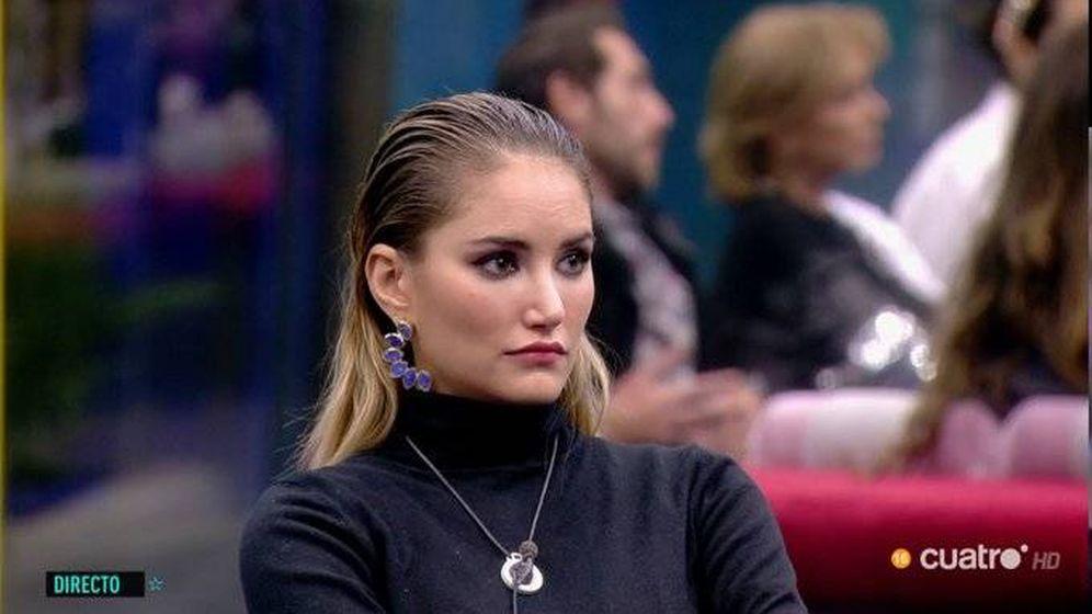 Foto: Alba Carrillo, en 'GH VIP 7'. (Telecinco)