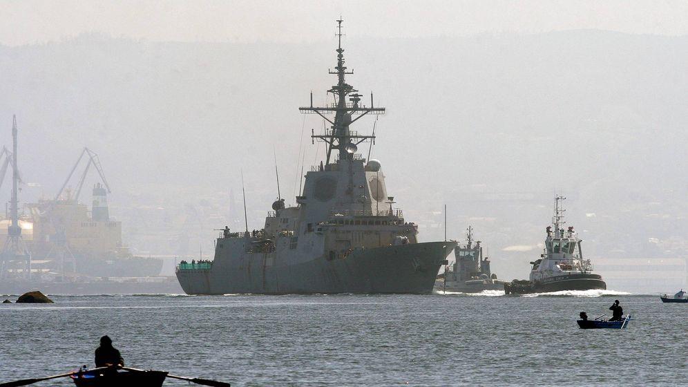 Foto: Fragata Cristóbal Colón, entregada por Navantia a la Armada española en 2012. (EFE)