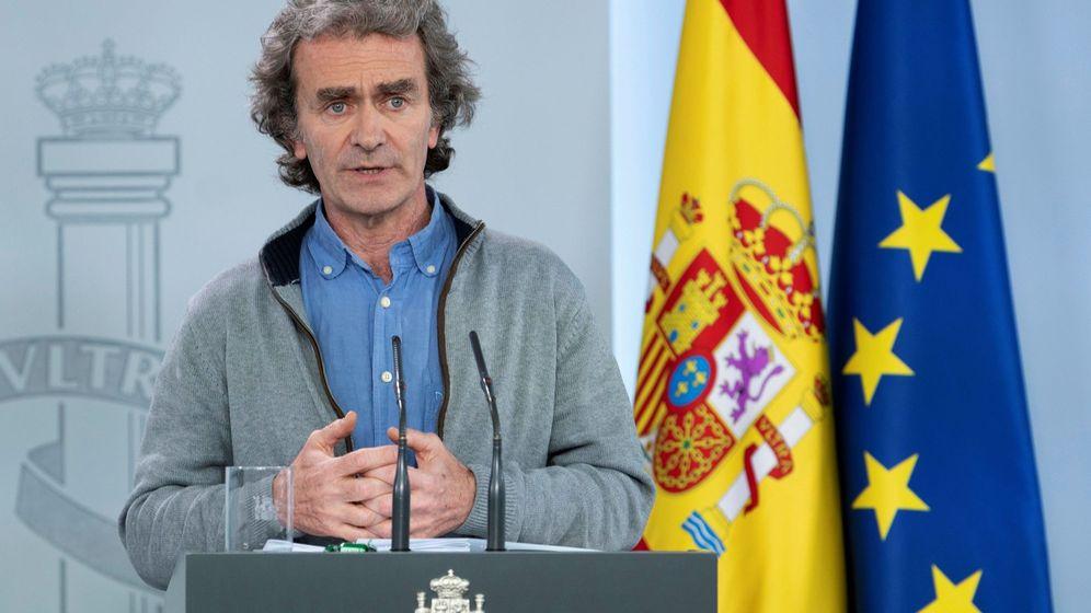 Foto: El director del Centro de Alertas y Emergencias Sanitarias del Ministerio de Sanidad, Fernando Simón. (Borja Puig / Pool Moncloa)