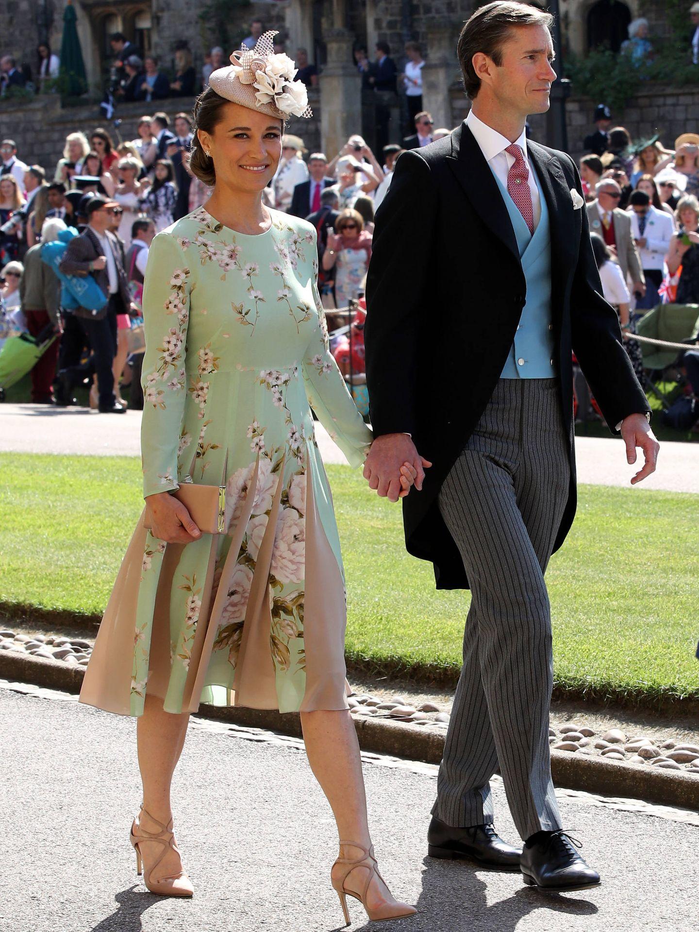 Pippa Middleton y su marido. (Reuters)