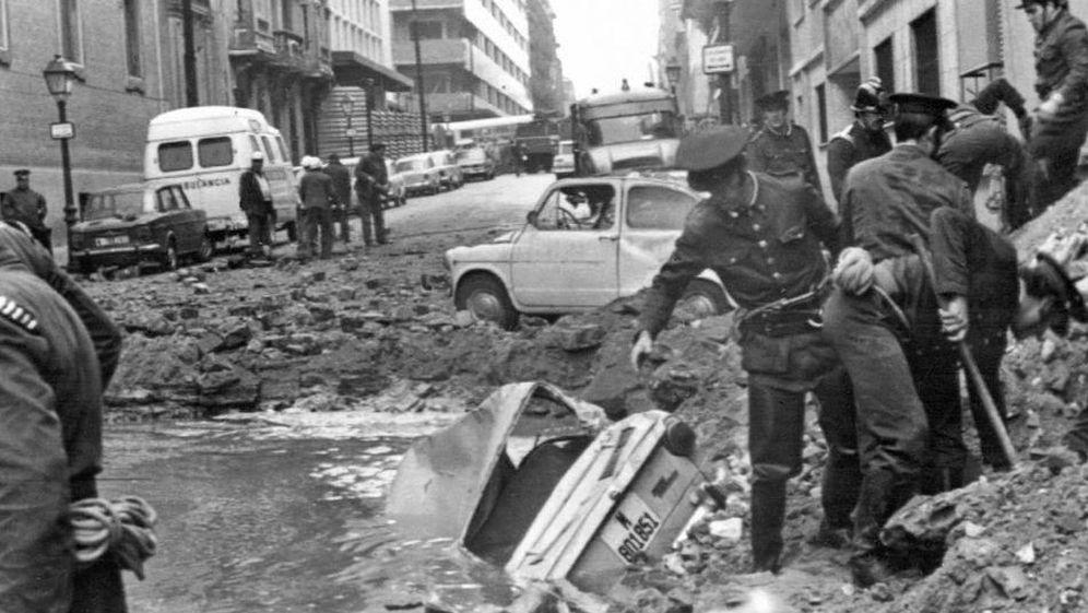 Foto: Atentado contra Carrero Blanco en 1973. (EFE)