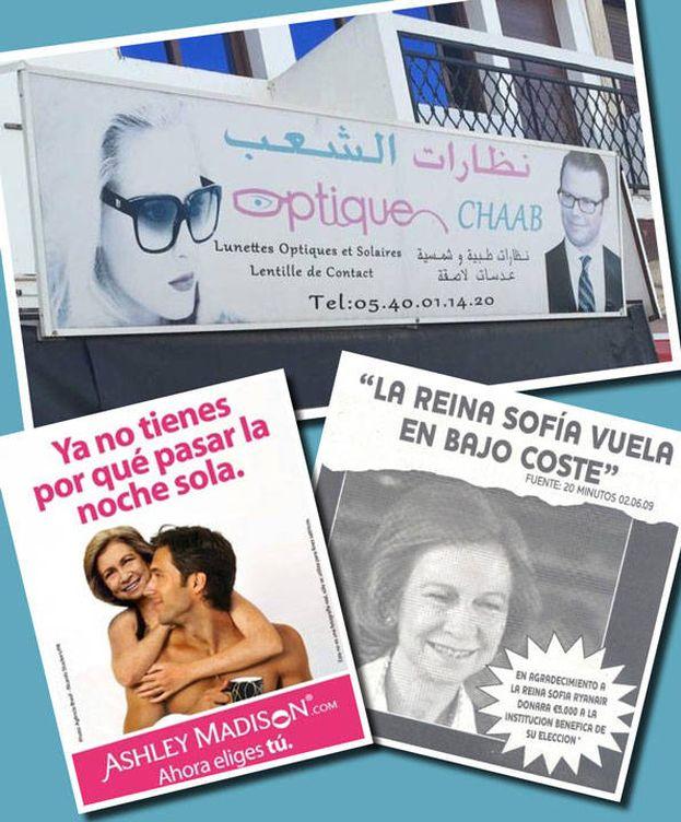 Foto: Varios anuncios protagonizados por miembros de la realeza