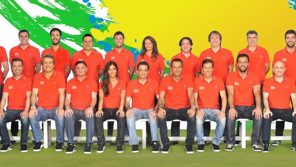 Los rostros de Mediaset para el Mundial de Brasil 2014