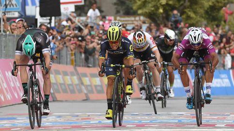 El australiano Caleb Ewan impide el triplete de Gaviria en el Giro de Italia
