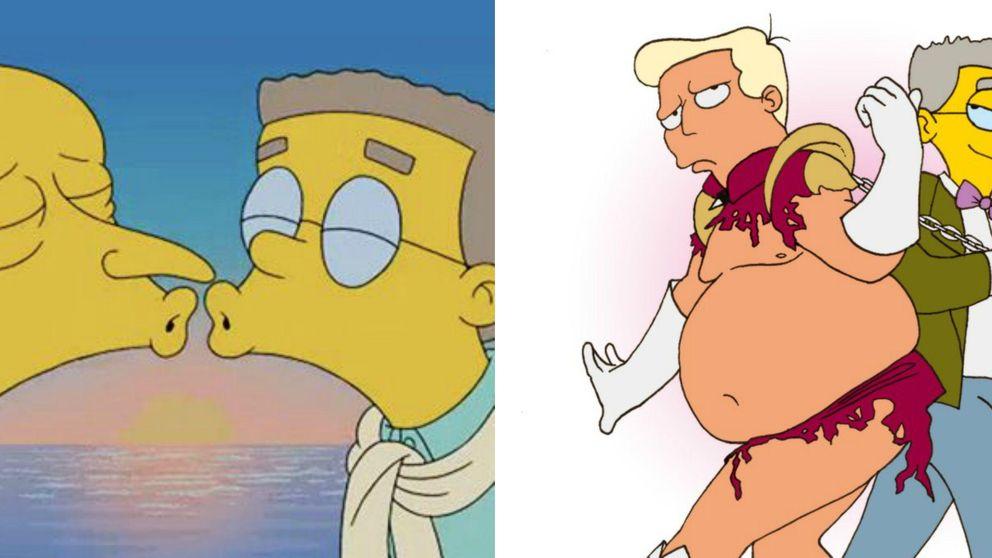 'Los Simpson' - Smithers (por fin) sale del armario en la nueva temporada