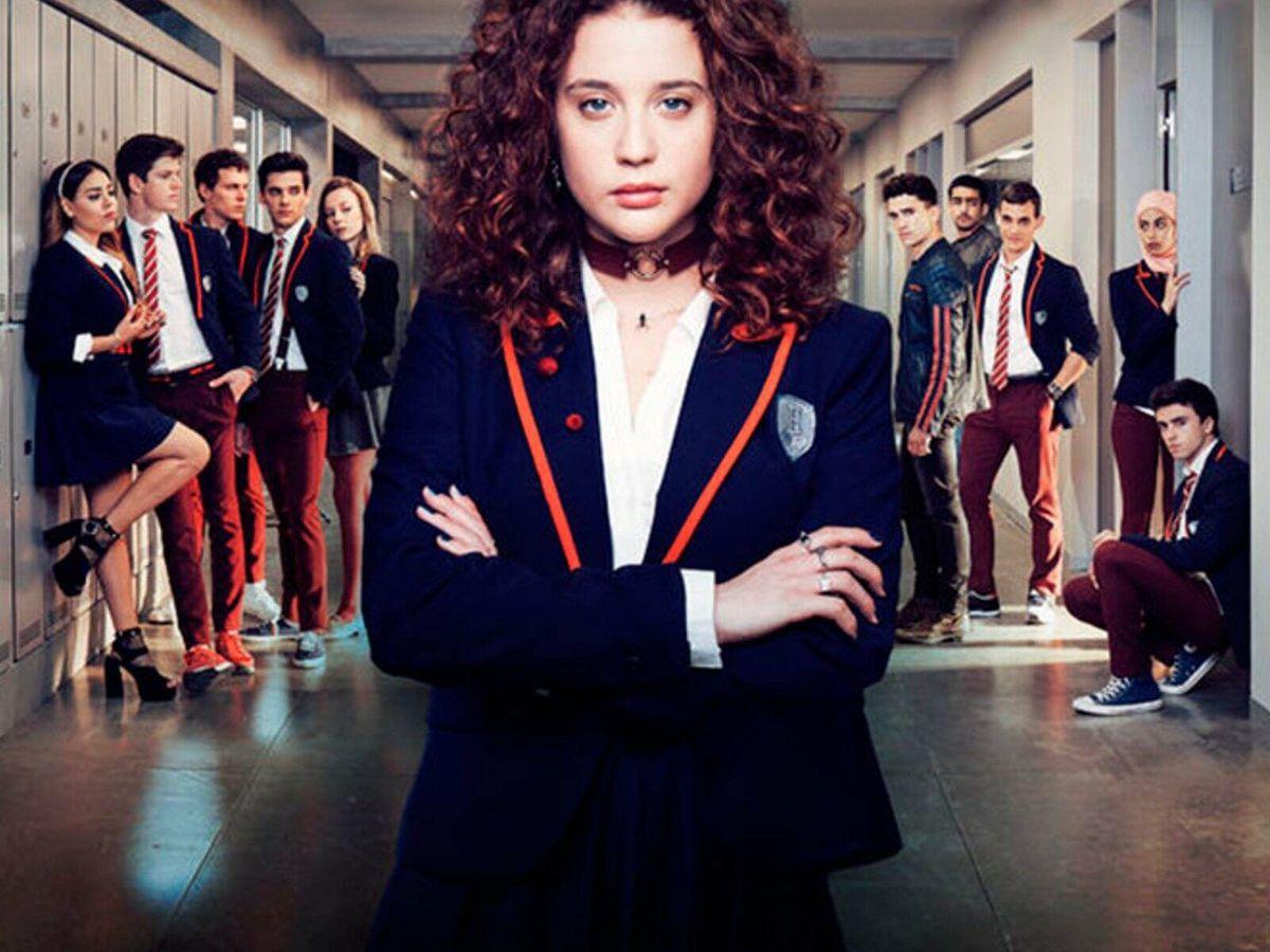Foto: La primera temporada de 'Élite'. (Netflix)