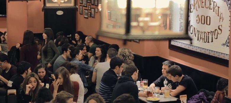 Foto: Restaurante de 100 Montaditos. (Efe)
