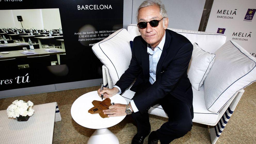 Isak Andic, anfitrión de la jet catalana en una escapada 'runner' a Formentera