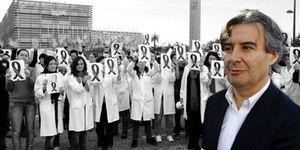 Foto: Rubén Moreno, yerno de Lladró, se 'cuela' en el Congreso tras hundir una institución científica