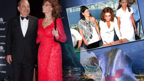 Cómo Carlos Slim conoció a su musa, Sofía Loren,  gracias a dos españoles