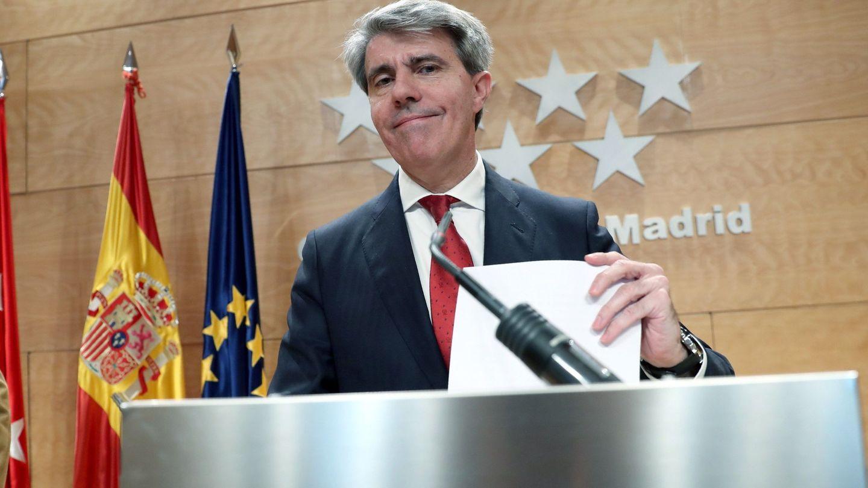 El presidente de la Comunidad de Madrid, Ángel Garrido. (EFE)