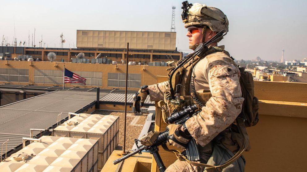Varios misiles impactan en una base militar con soldados de EEUU en Bagdad
