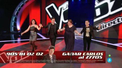 Dos 'repescados' entre los cuatro finalistas de 'La Voz'
