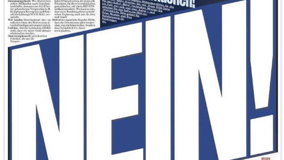 'Bild', el diario más leído de Europa , pide la desintegración del continente