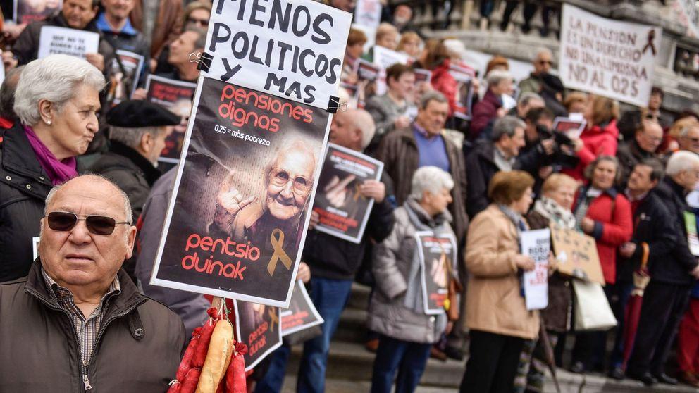 El insolidario disparate de incrementar las pensiones mínimas a 1.080 euros
