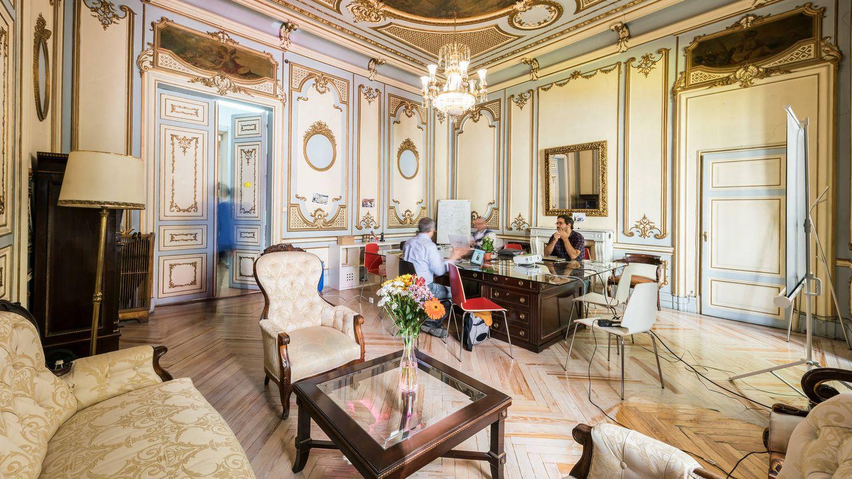 El palacio del duque de Alba, sede de TeamLabs, estará abierto durante el Open House.