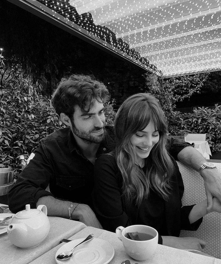 Foto:  Andrea Duro y Juan Betancourt en una imagen de su Instagram.