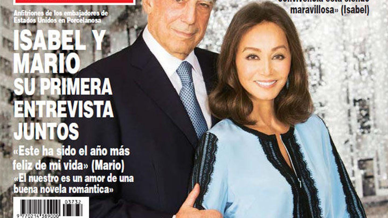 Primera exclusiva de Vargas Llosa y Preysler juntos en el kiosco