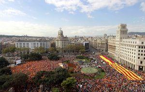 Los 'españolistas' avisan del otoño caliente en Cataluña por la consulta