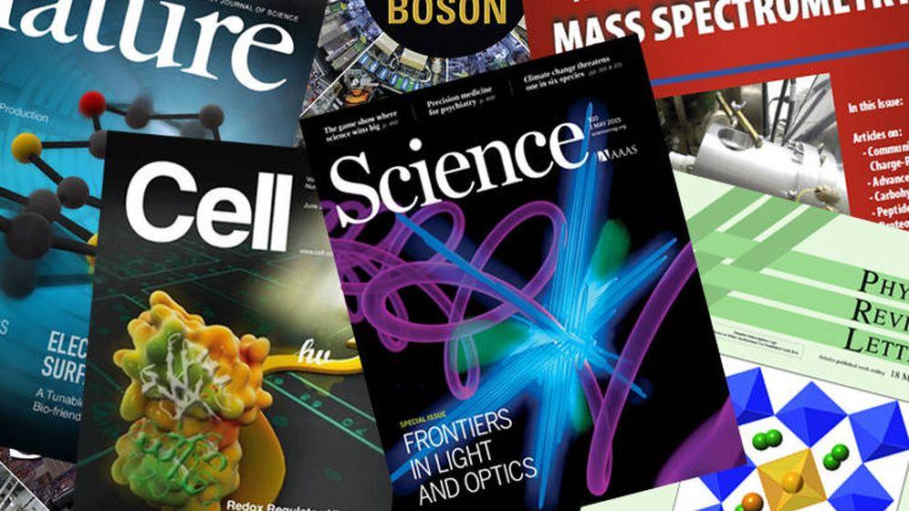 Foto: Portadas de revistas científicas (EC)