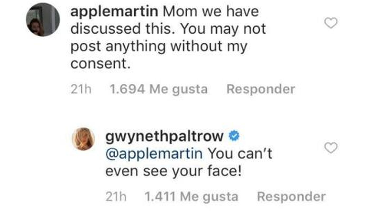 Discusión entre madre e hija en redes. (Instagram)