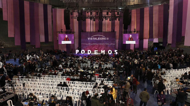 Foto: Asamblea ciudadana estatal de Podemos. EFE