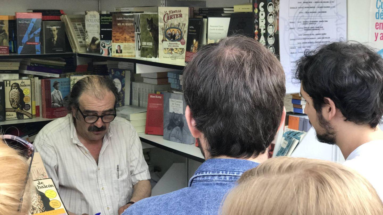 Rafael Reig en la Feria del Libro (J.E.)