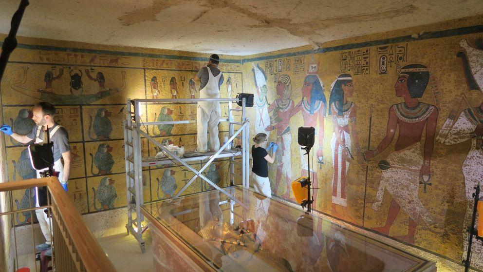 La tumba de Tutankamón vuelve a brillar como hace 3.000 años