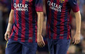 Jordi Alba se pierde seis partidos por una rotura fibrilar