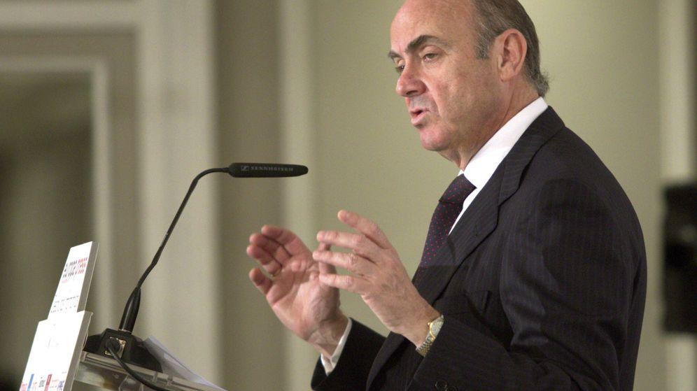 Foto: El ministro de Economía en funciones, Luis de Guindos