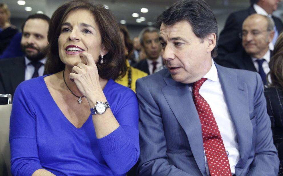 La alcaldesa de Madrid, Ana Botella, y el presidente de la Comunidad, Ignacio González. (EFE)