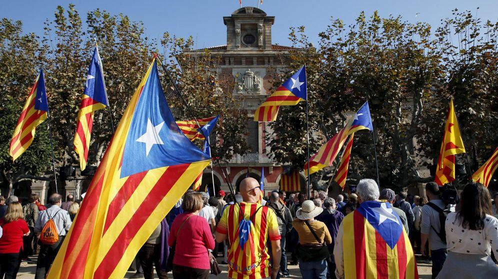 Foto: Catalanes a favor de la independencia. (Reuters)
