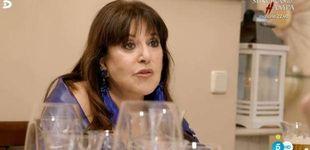 Post de Loles León, al cuello de Irma Soriano: