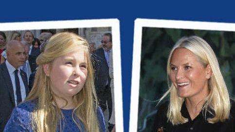 Estilo Real: Amalia sigue los pasos de su madre y Mette-Marit no defrauda