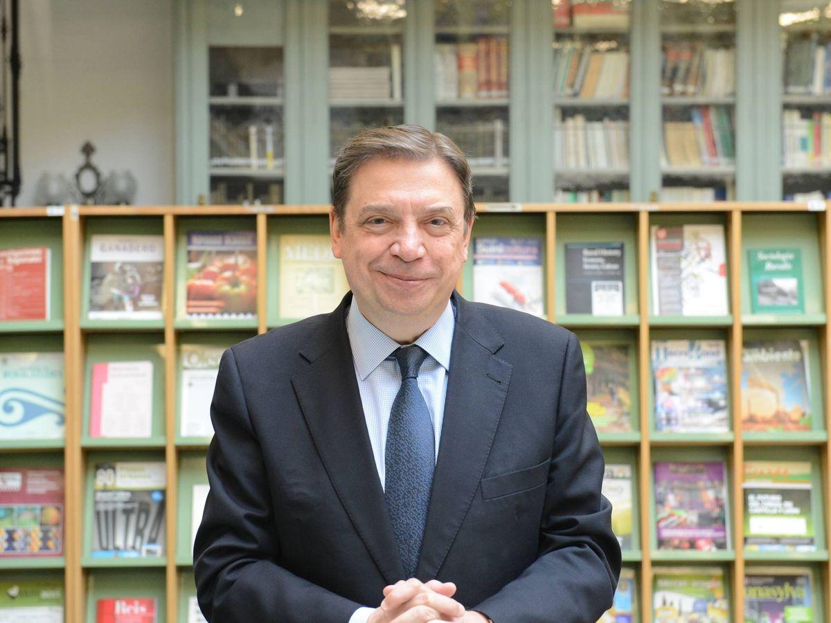 Foto: El ministro Luis Planas. (Ministerio de Agricultura)