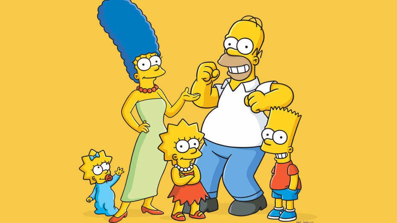 La familia Simpson al completo. (FOX)