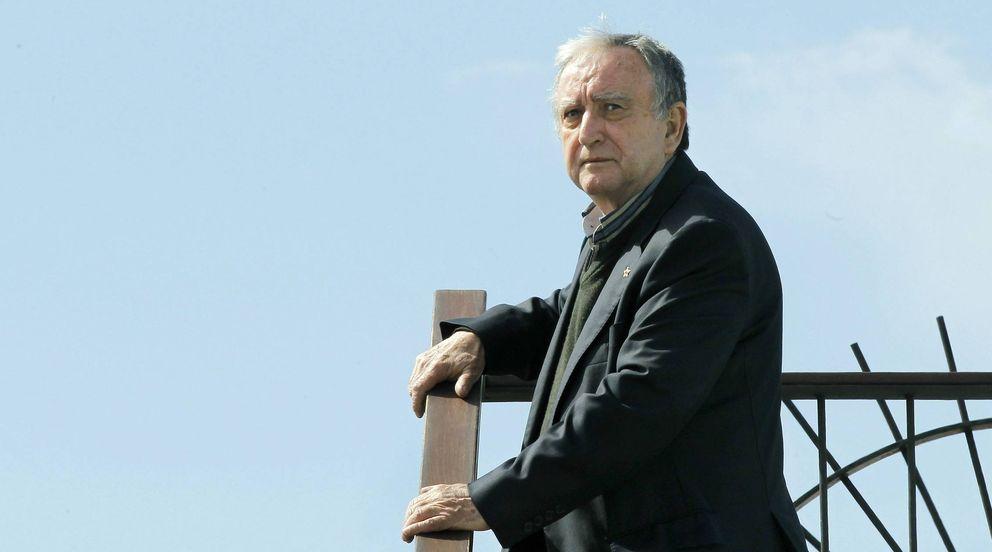 Foto: Chirbes en la presentación de su novela el año pasado (EFE/Andreu Dalmau)