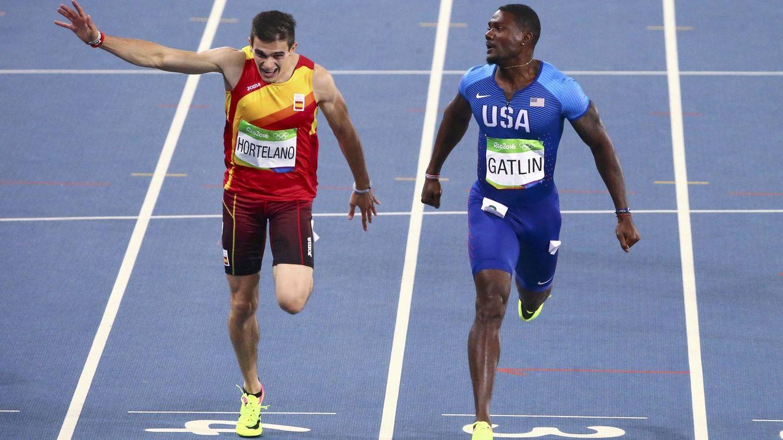 Bruno Hortelano se queda a las puertas del cielo en el estricto imperio de Usain Bolt