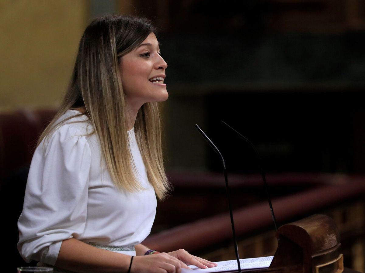 Foto: La diputada del PSOE Laura Berja interviene durante la sesión plenaria del Congreso de los Diputados celebrada este martes en Madrid.  (EFE)