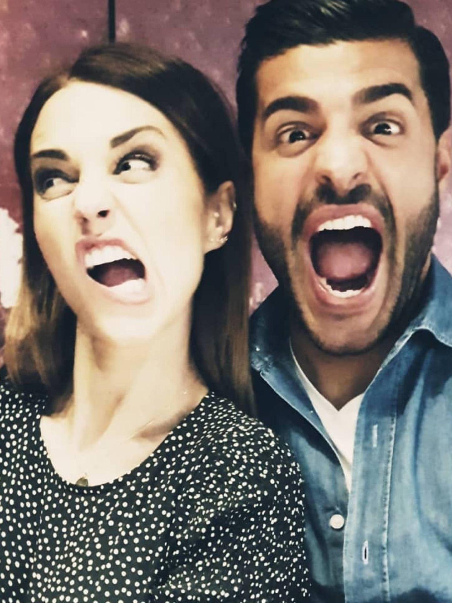 Paula Echevarría y Miguel Torres, en una de las fotografías compartidas por la actriz. (Instagram @pau_eche)