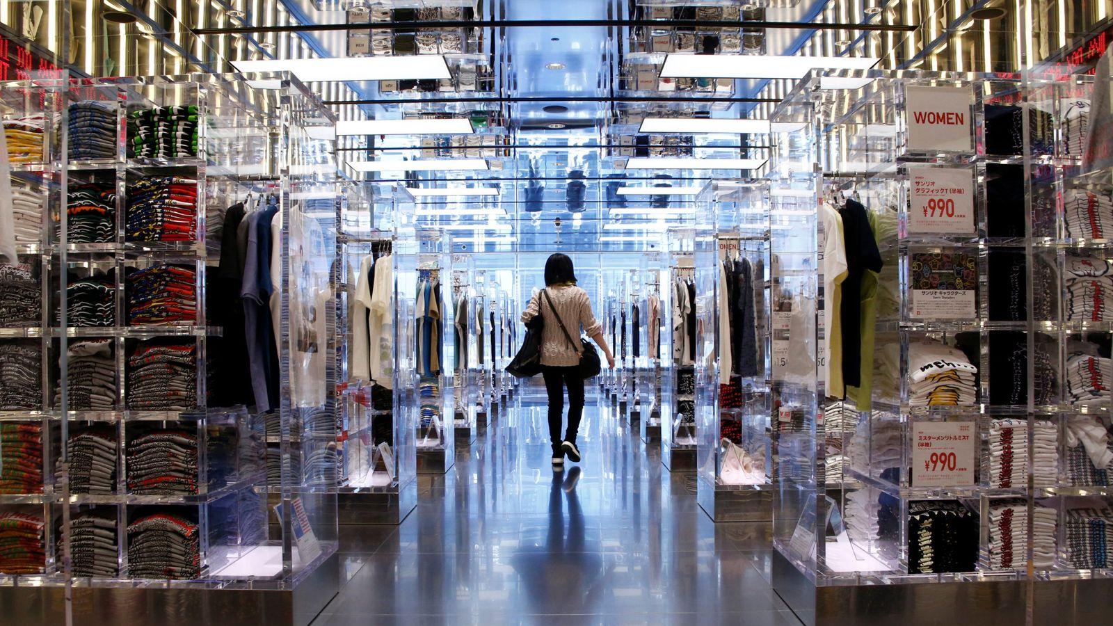Foto: Una tienda Uniqlo en Tokio. (Reuters)