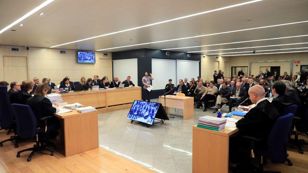 Foto: Sala del juicio de Bankia.