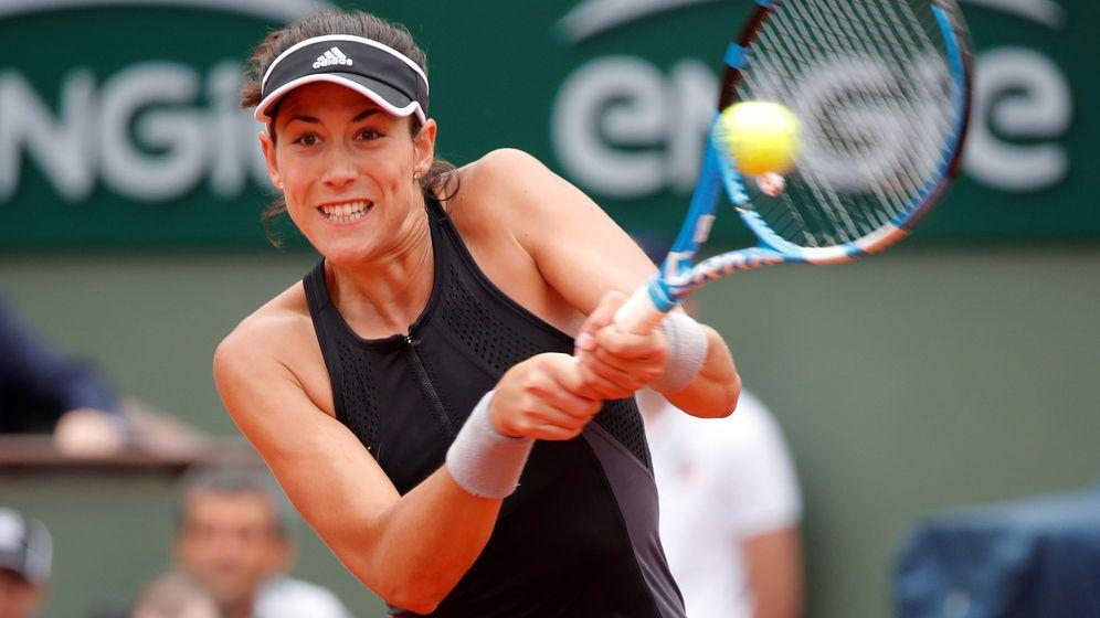 Foto: Garbiñe Muguruza, este miércoles en Roland Garros. (Reuters)
