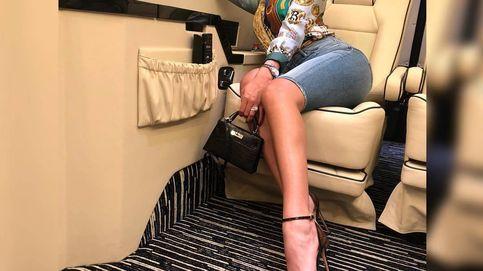 Georgina más allá de lo que se pone: así es su exclusivo equipaje para ir en el jet