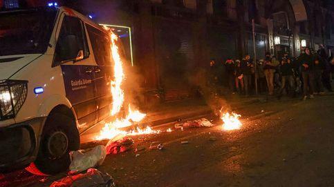Chalecos amarillos franceses apoyaron las manifestaciones de Barcelona