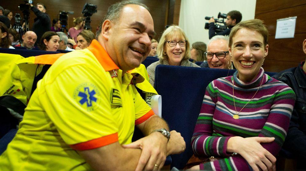 Foto: Audrey, la montañera que estuvo más de seis horas en paro cardíaco tras sufrir una hipotermia en el Pirineo. (EFE)