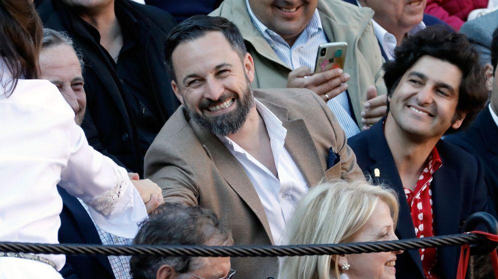Foto: El lider de VOX, Santiago Abascal. (EFE)